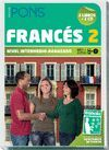 FRANCES 2 NIVEL INTERMEDIO-AVANZADO (2 LIBROS+ 2 CS)