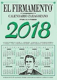 020 EL FIRMAMENTO -CALENDARIO ZARAGOZANO PARED