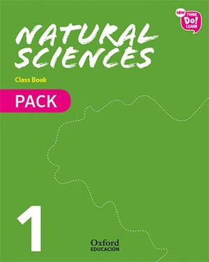 018 1EP NEW THINK DO LEARN NATURAL SCIENCES 1. CLASS BOOK + STORIES PACK. MODULE 2. LIVING THINGS.