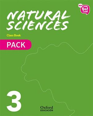 019 3EP NEW THINK DO LEARN NATURAL SCIENCES CLASS BOOK PACK