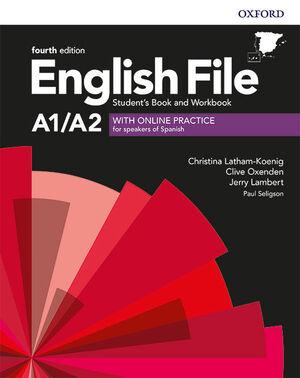 ENGLISH FILE A1/A2 SB+WB SIN RESPUESTAS