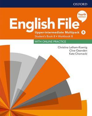 020 ENGLISH FILE 4TH EDITION UPPER-INTERMEDIATE MULTIPACK B