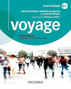 VOYAGE B1+  STUDENT'S BOOK + WORKBOOK+ PRACTICE PACK WITHOUT KEY