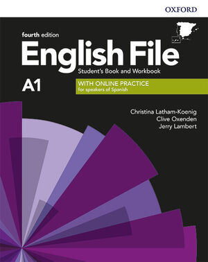019 ENGLISH FILE A1 SB/WB WITH KEY PACK 4ED