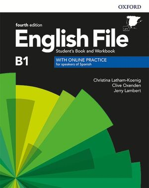 020 ENGLISH FILE B1 INTERMEDIATE STUDENT'S BOOK AND WORKBOOK WITH KEY PACK
