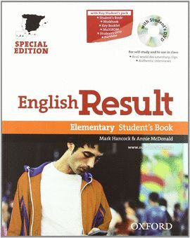 ENGLISH RESULT ELEMENTARY STUDENT'S BOOK PACK CD