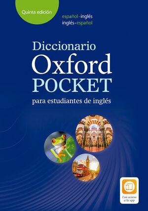 018 DICCIONARIO OXFORD POCKET PARA ESTUDIANTES INGLES ESPAÑOL-INGLES/INGLES-ESPAÑOL