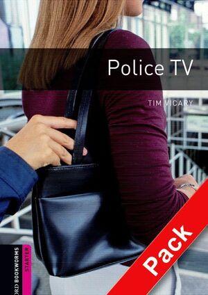 POLICE TV. STARTER. BOOKWORMS. +CD