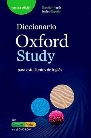 018 DICCIONARIO OXFORD STUDY (+CD-ROM) BILINGUE 3 EDICION