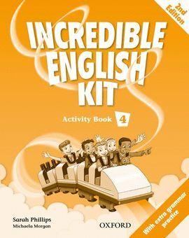 010 4EP INCREDIBLE ENGLISH KIT ACTIVITY BOOK