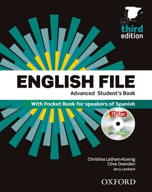 017 ENGLISH FILE ADVANCED STUDENT'S BOOK + WORKBOOK WITH KEY PACK 3RD EDITION