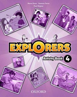 011 4EP EXPLORERS ACTIVITY BOOK