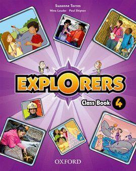 011 4EP EXPLORERS CLASS BOOK+SONGS CD