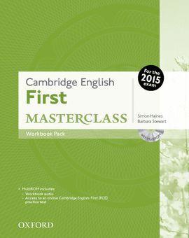 015 FIRST MASTERCLASS  WORKBOOK WITHOUT KEY