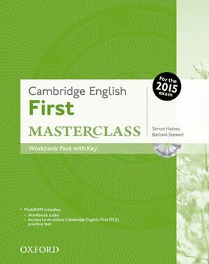 015 FIRST MASTERCLASS WORKBOOK WITH KEY