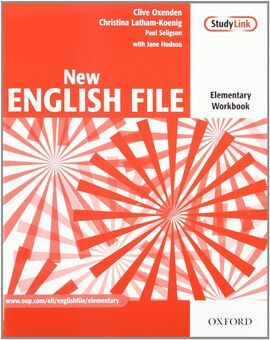 009 NEW ENGLISH FILE ELEMENTARY -PACK STUDENT'S BOOK+WORKBOOK+CD+