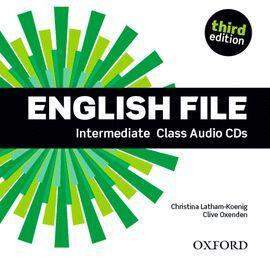 CD AUDIO ENGLISH FILE INTERMEDIATE CLASS AUDIO CD 3RD EDITION (4)