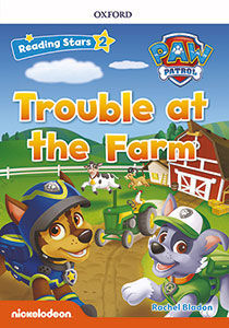 RS2 PAW PATROL TROUBLE AT THE FARM (+MP3) READING STARS