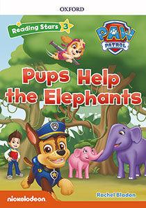 RS3 PAW PATROL PUPS HELP THE ELEPHANTS (+MP3) READING STARS