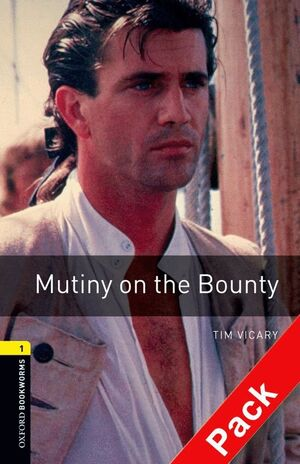 MUTINY ON THE BOUNTY. STAGE 1. BOOKWORMS. +CD