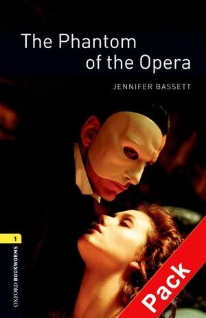 THE PHANTOM OF THE OPERA. STAGE 1. BOOKWORMS. +CD