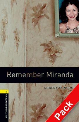 REMEMBER MIRANDA. STAGE 1. BOOKWORMS. +CD