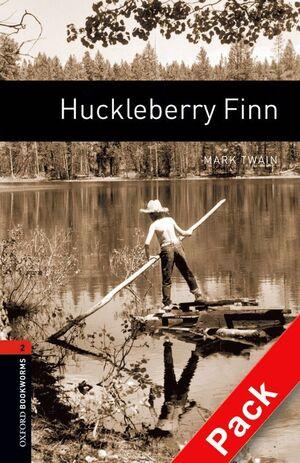 HUCKLEBERRY FINN. STAGE 2. BOOKWORMS. +CD