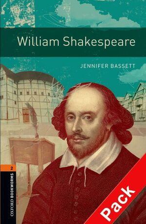 WILLIAM SHAKESPEARE. STAGE 2. BOOKWORMS. +CD