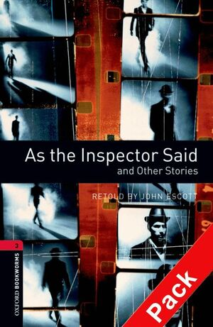 AS THE INSPECTOR SAID AND OTHER STORIES -LEVEL 3 +CD