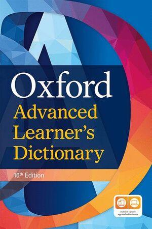 020 OXFORD ADVANCED LEARNER'S DICTIONARY PAPERBACK + DVD + PREMIUM ONLINE ACCESS 10ªEDICION