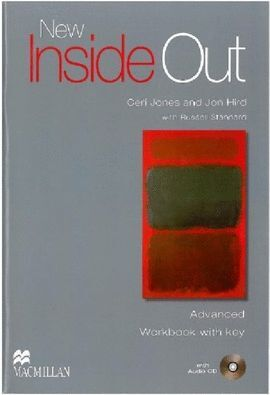 010 NEW INSIDE OUT ADVANCED WORKBOOK WITH KEY +CD