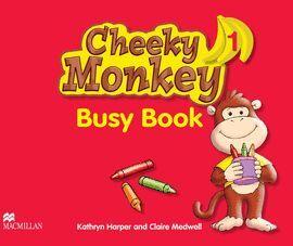 CHEEKY MONKEY 1 -BUSY BOOK