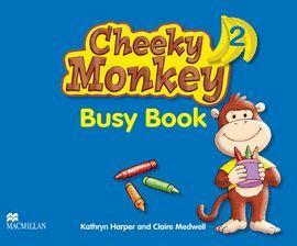 CHEEKY MONKEY 2 -BUSY BOOK