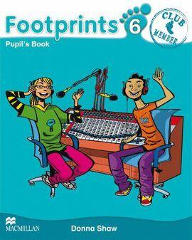 010 6EP FOOTPRINTS PUPIL'S BOOK -CLUB MEMBER