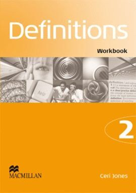 08 -DEFINITIONS 2 WORKBOOK + CD AUDIO Y CUADERNILLO