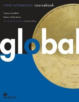 011 GLOBAL UPPER INTERMEDIATE COURSEBOOK + WORKBOOK (PACK)