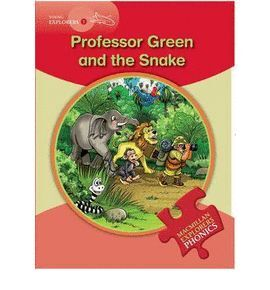 PROFESOR GREEN AND THE SNAKE -YOUNG EXPLORERS 1