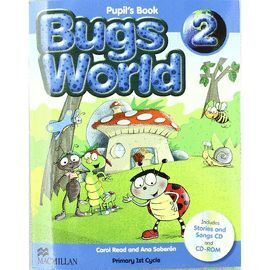 010 2EP BUGS WORLD PUPIL¦S BOOK (+CD Y CD-ROM)