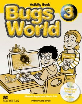 010 3EP BUGS WORLD ACTIVITY BOOK (+CD Y CD-ROM)