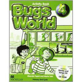 010 4EP BUGS WORLD ACTIVITY BOOK +2CD