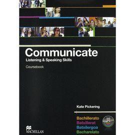 011 COMMUNICATE COURSEBOOK + DVD BACHILLERATO