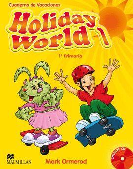 011 1EP HOLIDAY WORLD + CD - CUADERNO DE VACACIONES