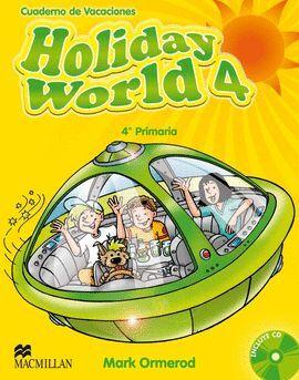 011 4EP HOLIDAY WORLD + CD - CUADERNO DE VACACIONES