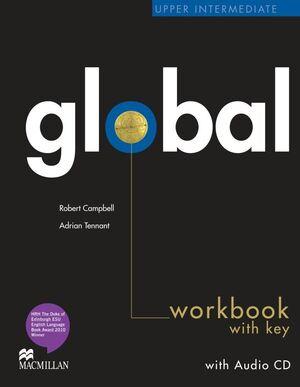 012 WB GLOBAL UPPER INTERMEDIATE WORKBOOK WITH KEY + AUDI