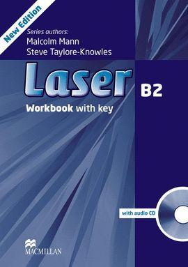 013 WB LASER B2 WORKBOOK WITH KEY + CD