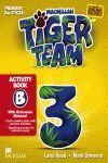 013 3EP WB OPCION B TIGER TEAM ACTIVITY BOOK + PROGRESS JOURNAL