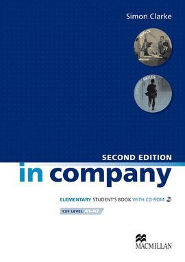 010 IN COMPANY ELEMENTARY STUDENT`S BOOK CEF LEVEL A1-A2 +CD 2ªED