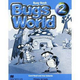 009 BUGS WORLD 2EP BUSY BOOK