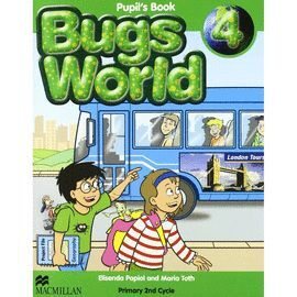 009 4EP BUGS WORLD 4 PUPIL'S BOOK