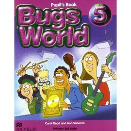 010 5EP BUGS WORLD 5 PUPIL'S BOOK